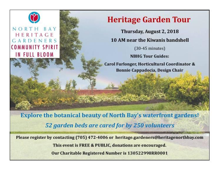 Garden Tour 2018