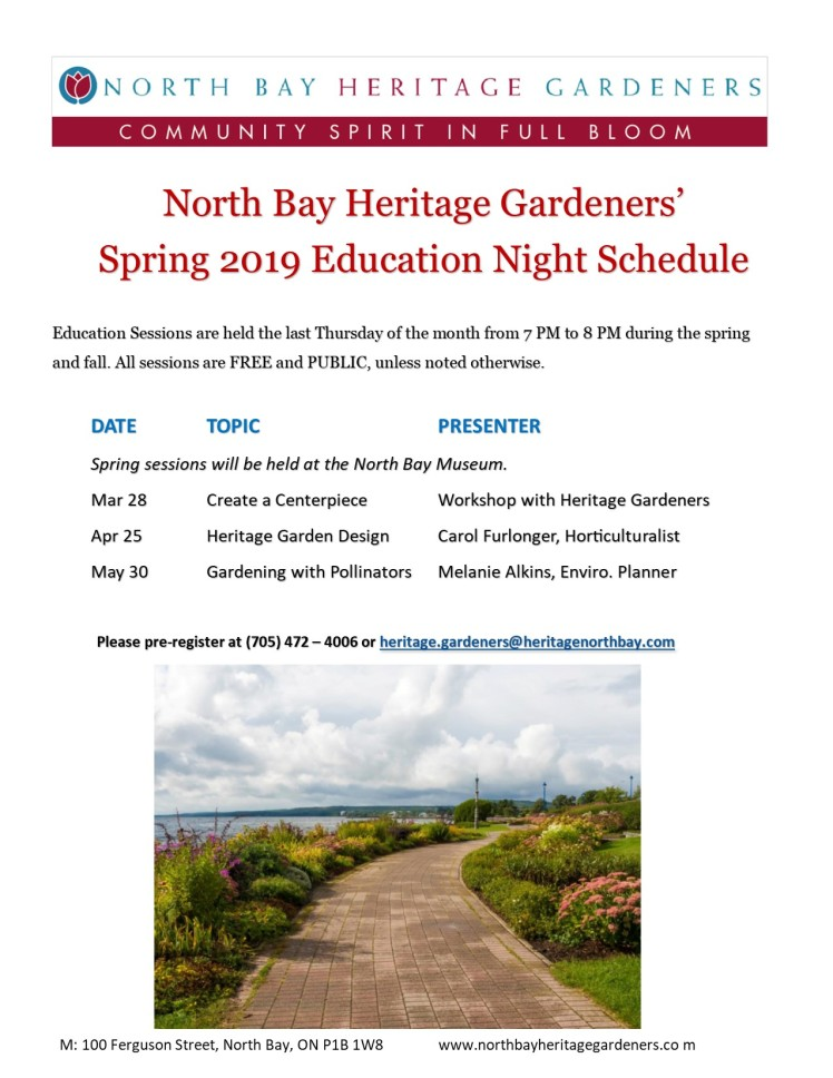 hg spring 2019 education night sched