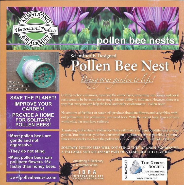 Bee Pollen Nest info0001