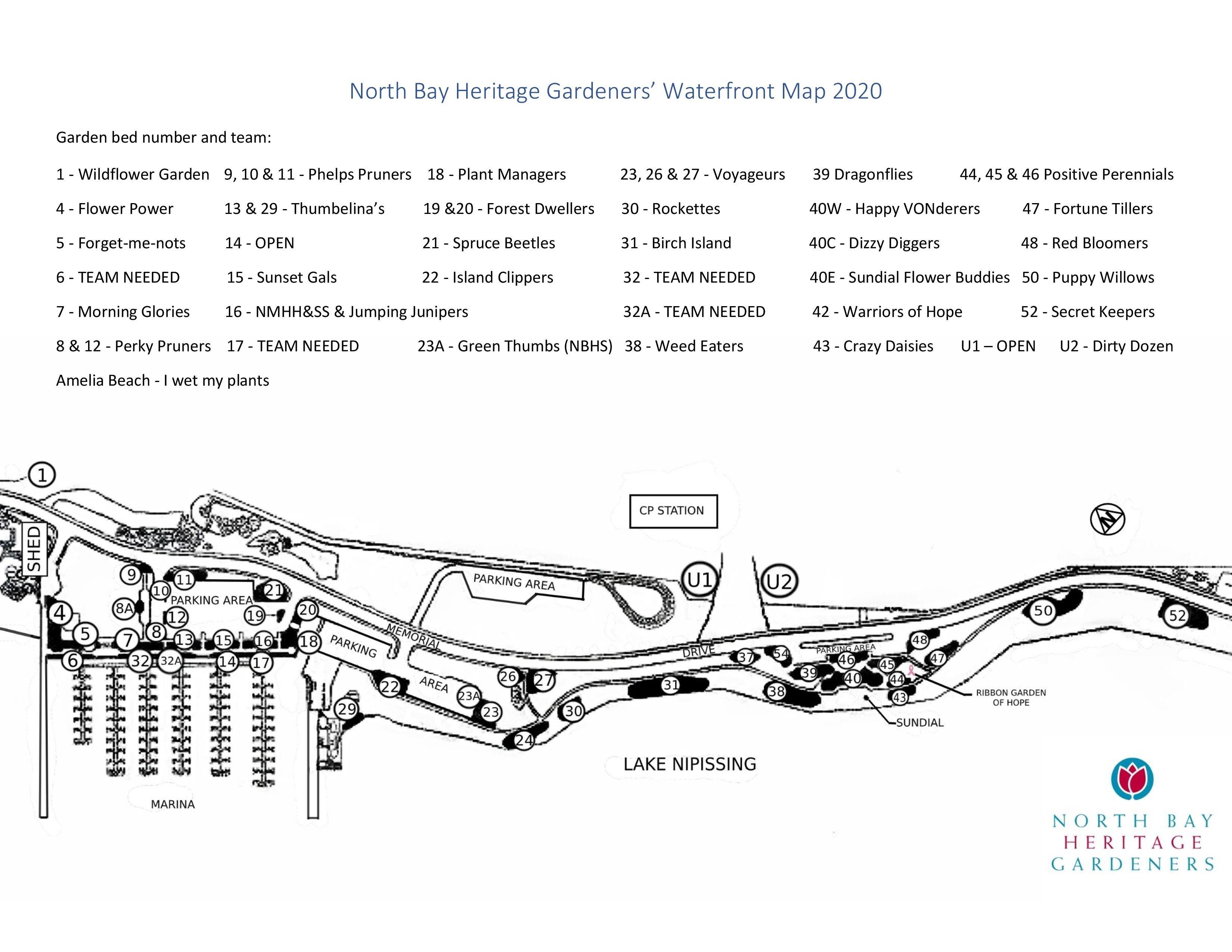 North Bay Heritage Gardeners Map-page-001
